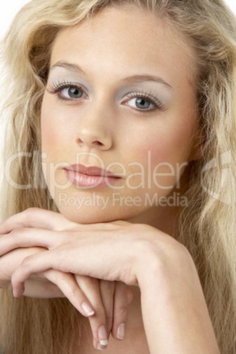 Blonde frauen mit langen haaren