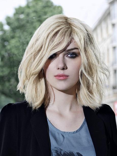 Frisuren Halblang Damen