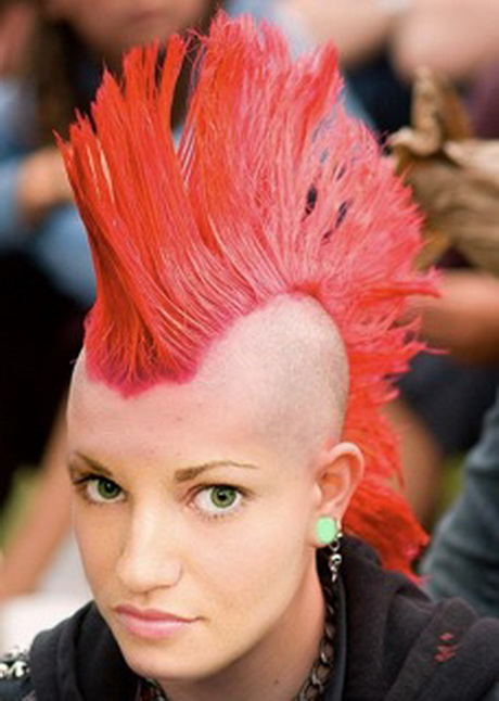 irokesen haarschnitt
