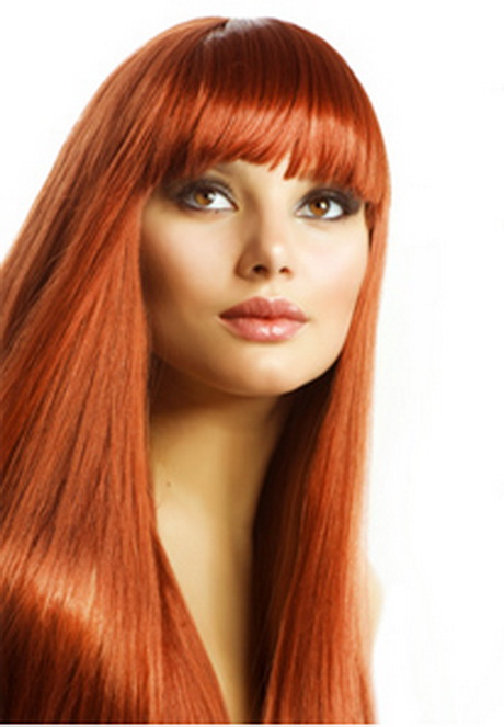 Kupfer Haarfarbe