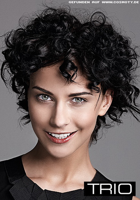 Kurze Locken Frisuren Frauen
