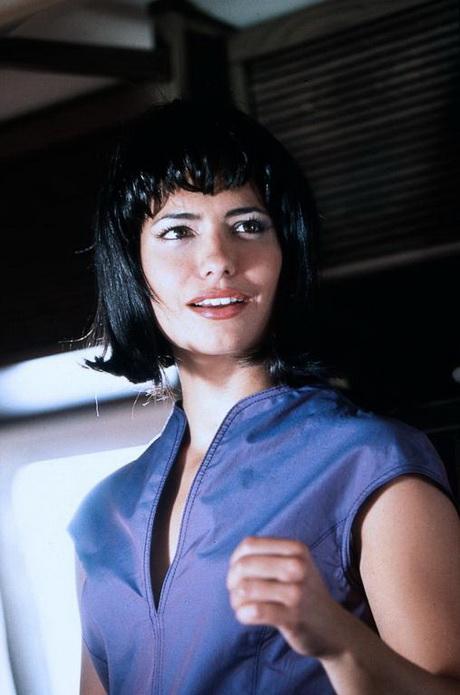 Sandra speichert kurze haare
