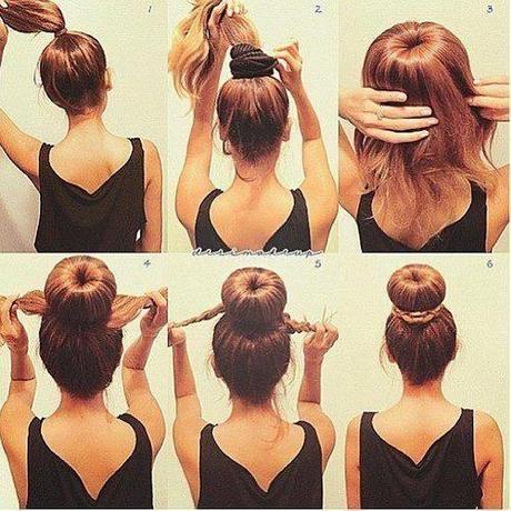 Schnelle Frisuren Fr Lange Haare