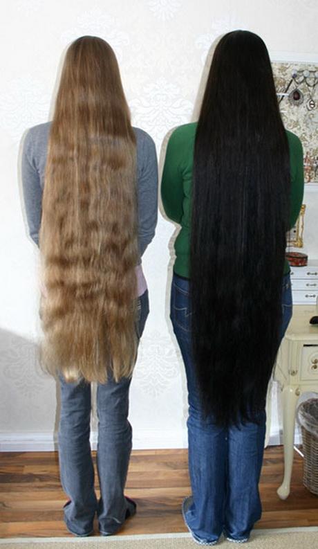 Superlange Haare