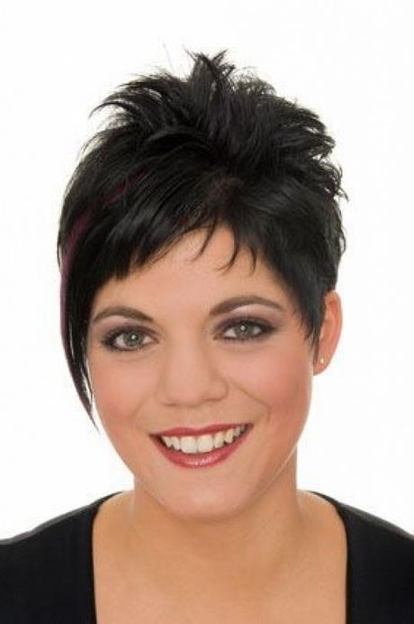 Moderne Frisuren Damen Kurzhaarfrisur Feines Haar