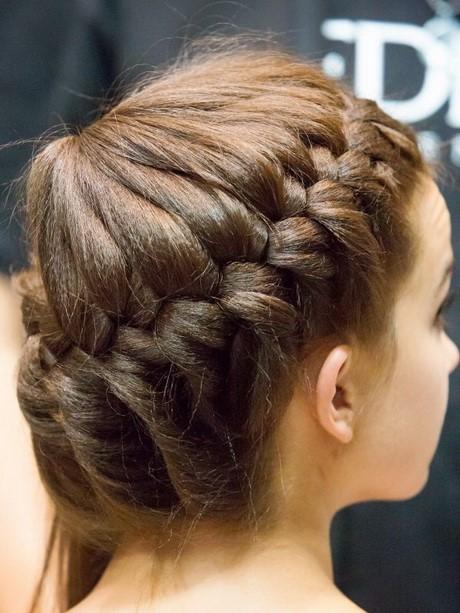 kinder haare flechten
