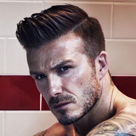 David Beckham Frisur 2018