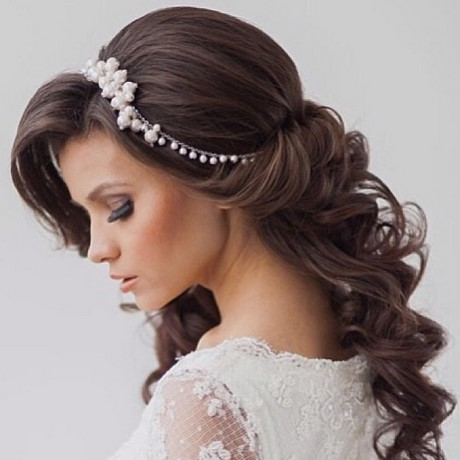 Hairstyles for long hair for wedding 2017