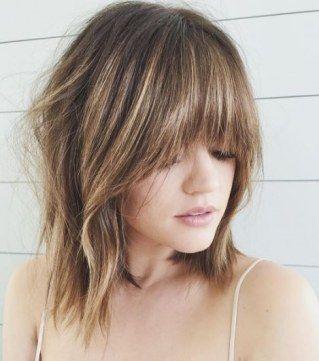 frisuren dünne haare schmales gesicht