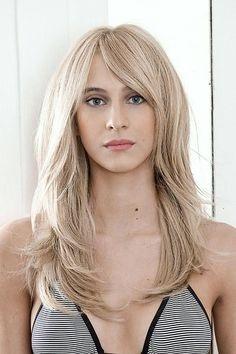 Lange Haare Durchgestuft