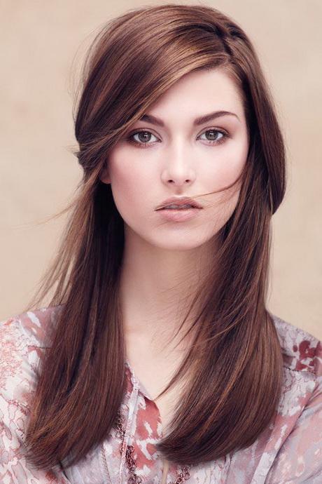 braune lange haare frisuren