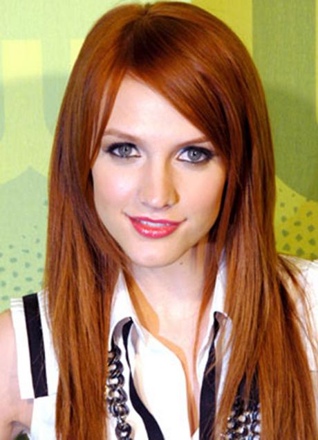 Haare von rot auf blond färben