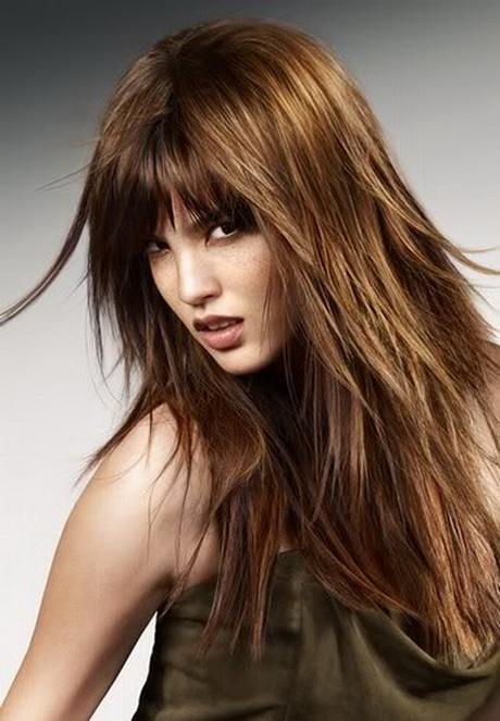 Schöne stufenschnitte für langes haar
