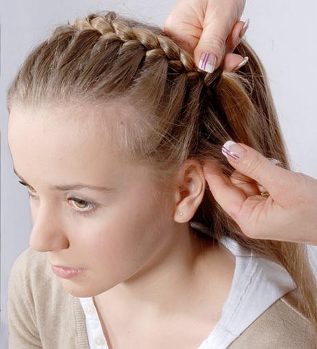 zopf frisuren mittellange haare