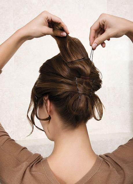 einfache hochsteckfrisuren dünne haare