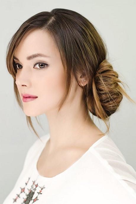 hochsteckfrisuren kurze dünne haare