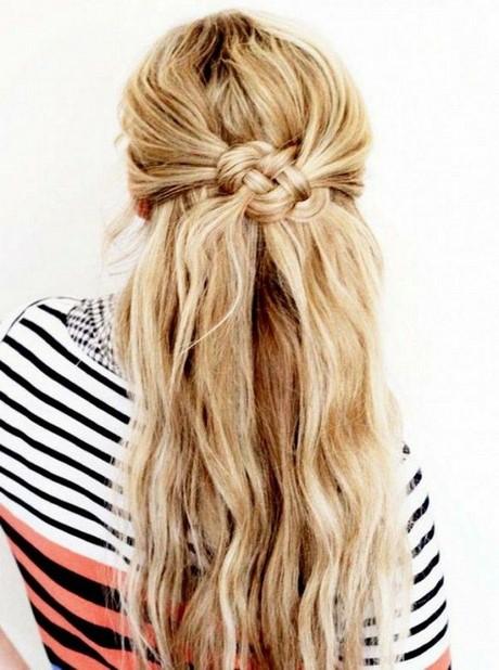 leichte und schnelle frisuren für lange haare