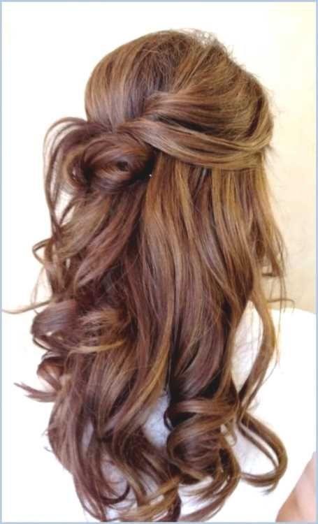frisuren lange haare locken hochstecken