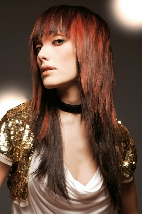 stufen frisur lange haare