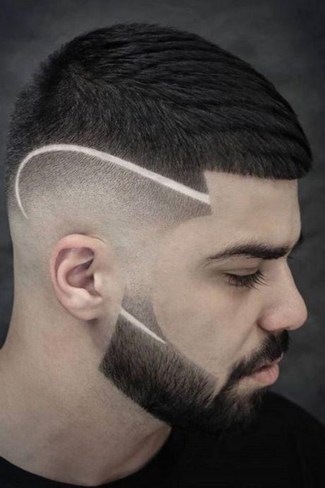 männer haarschnitt mit übergang