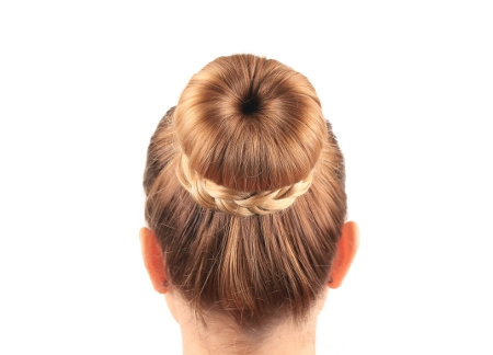 Dutt Mit Duttkissen Lange Haare